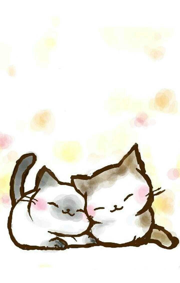 Meu Amiguinho Peludo Kitten Drawing Cat Art Cat Artwork