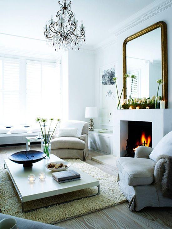 Openhaard gezellige woonkamer interieur blog pinterest for Gezellige woonkamer