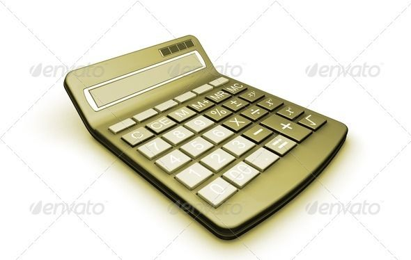 Calculator  #GraphicRiver         3D render of a calculator     Created: 20May11 GraphicsFilesIncluded: JPGImage Tags: 3d #accounting #addition #bills #budget #business #buttons #calculate #calculator #divide #division #equals #finance #finances #financial #isolated #mathematics #maths #money #multiply #object #office #render #stationery #tax