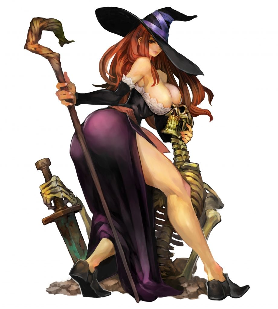Giantess Tinkerbell regarding concept art of the sorceress from dragons crown | dragon's crown