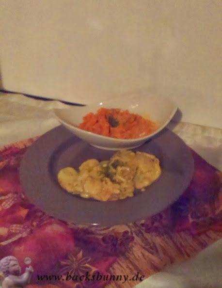 Bratkartoffeln mit Schmelzkäse.