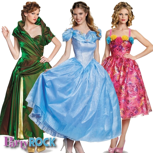 Look magical this Halloween with Disney's Cinderella themed Costumes from Party Rock in Frisco!