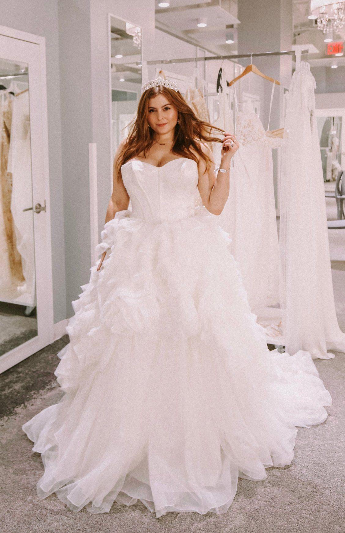 Noelle Shares Some Of Her Favorite Wedding Dresses At David S Bridal Noelle S Favorite Glitter Bridesmaid Dresses Wedding Dress Inspiration Wedding Dresses [ 1739 x 1128 Pixel ]
