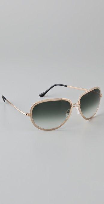 445cdeebb4c6 Maison Martin Margiela Replica Turkey Biseau Sunglasses thestylecure ...