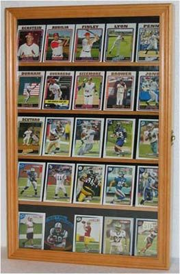 Sports Trading Card Display Case Cabinet Sports Cards Display Trading Card Display Baseball Card Displays