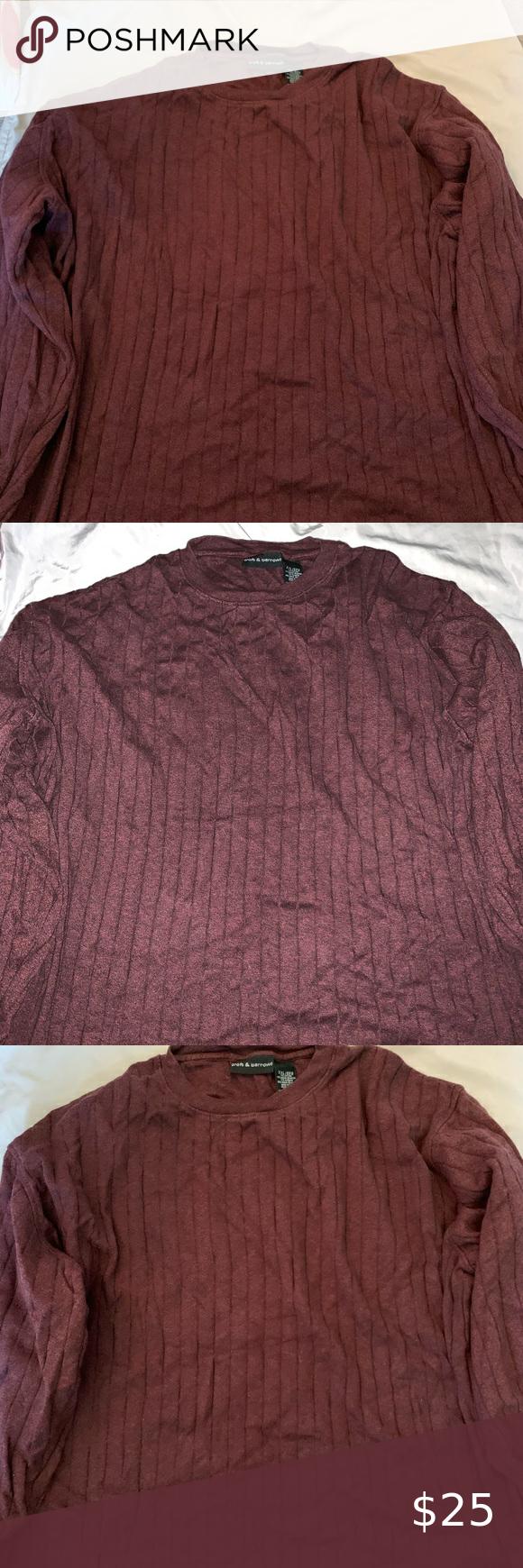 Croft And Barrow Crewneck Sweater Crew Neck Men S Sweater From Croft And Barrow Size Xxl I Took A Photo With An Sweaters Crew Neck Sweater Croft And Barrow [ 1740 x 580 Pixel ]