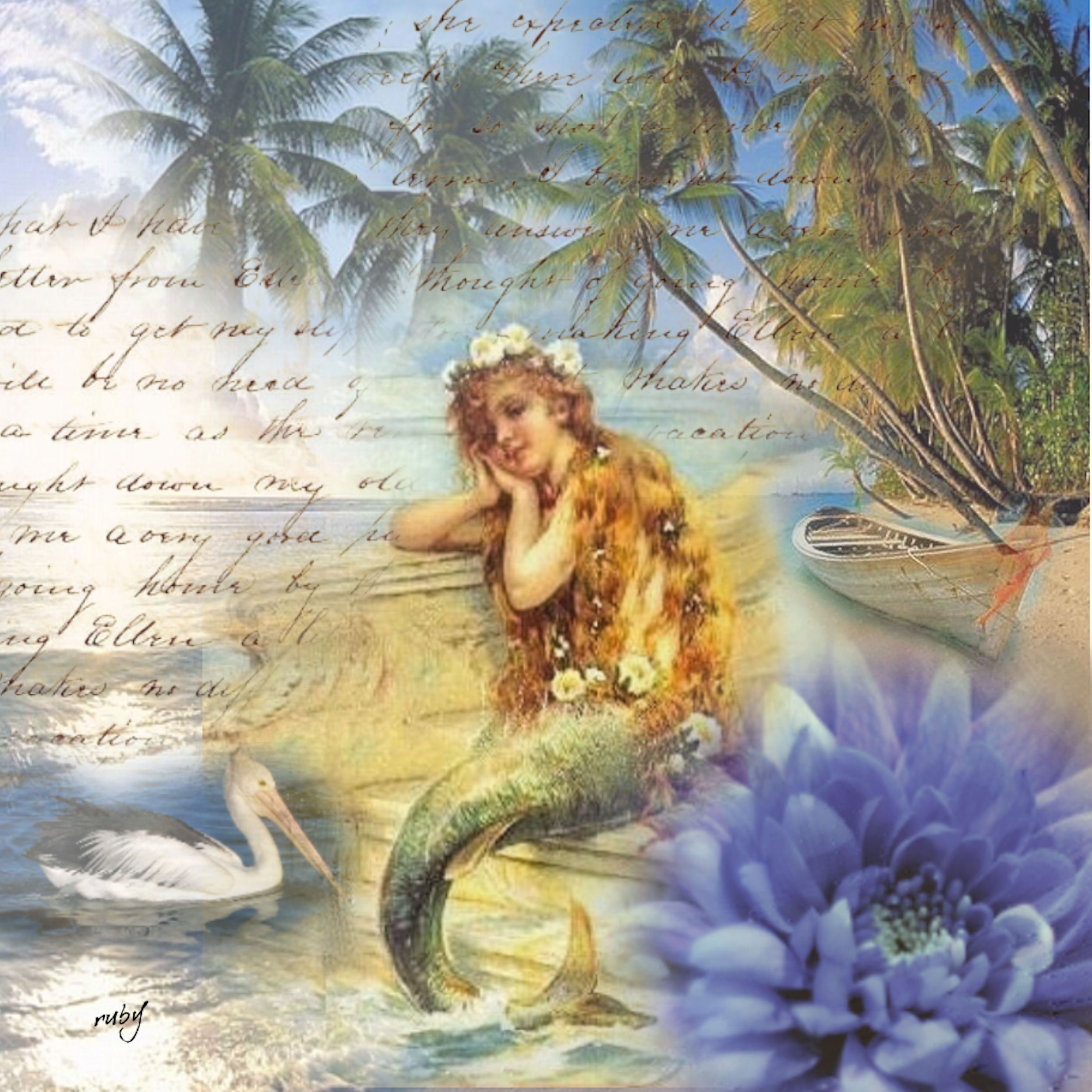 Vintage mermaid art related famous mermaid for Famous prints for sale