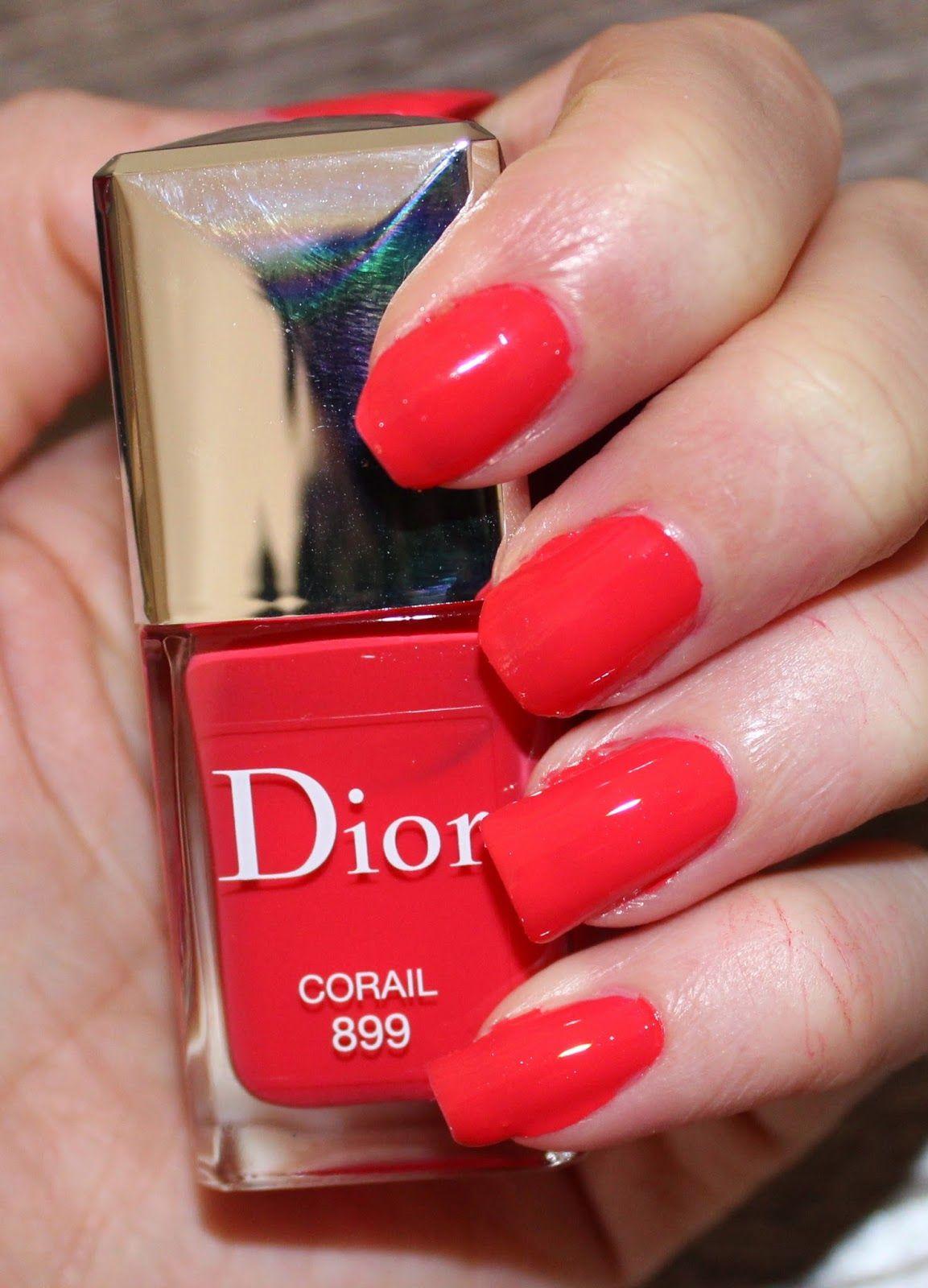 Dior Vernis in Corail   Nail Polish   Pinterest