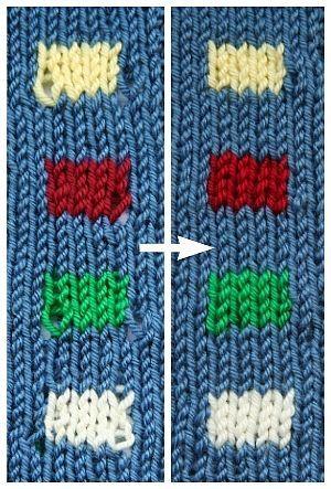 Changer De Couleur Sans Trou Tricot Pinterest Knit Crochet