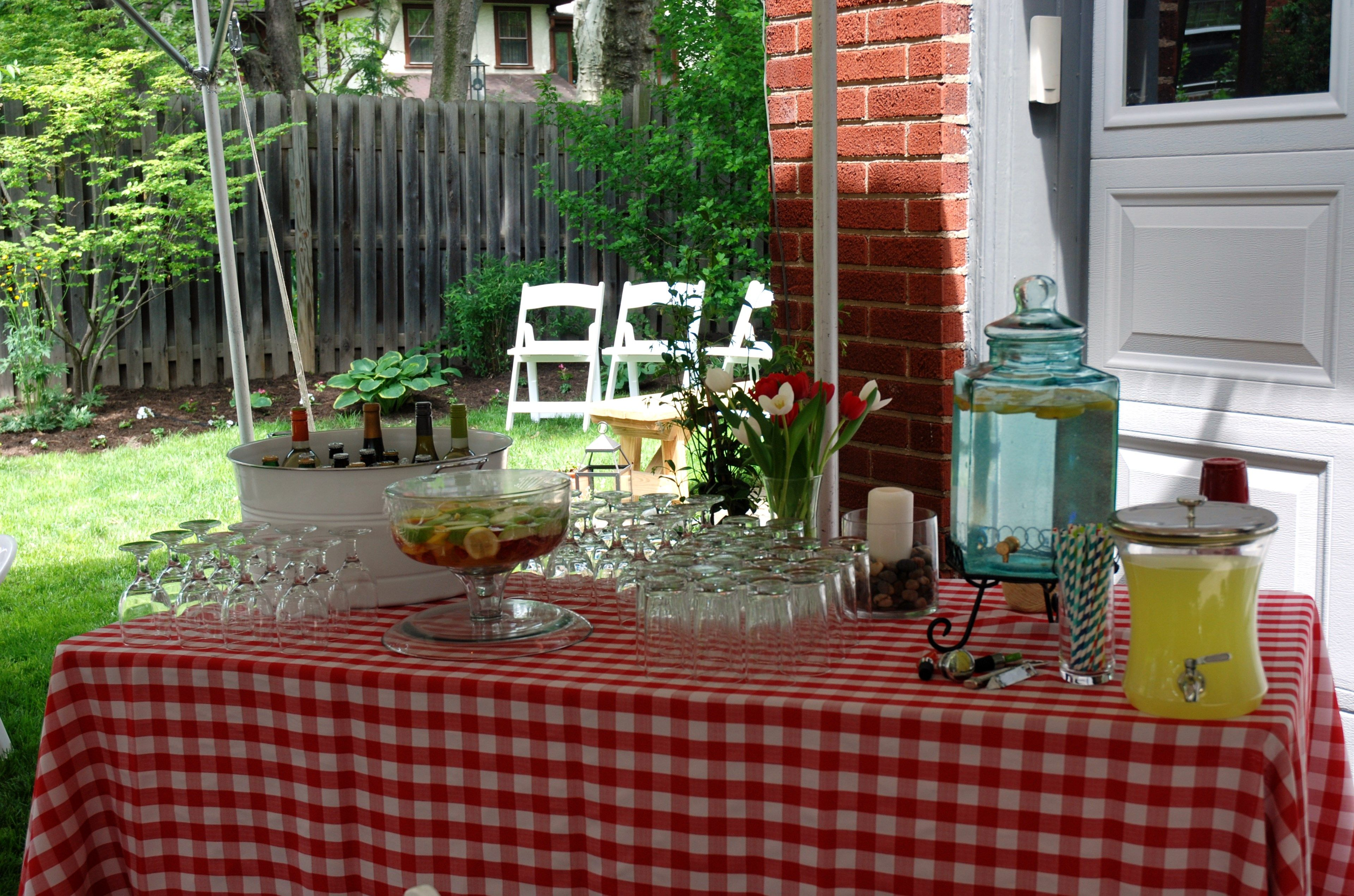 Backyard Ladybug Birthday | Wedding rentals, Tent, Backyard