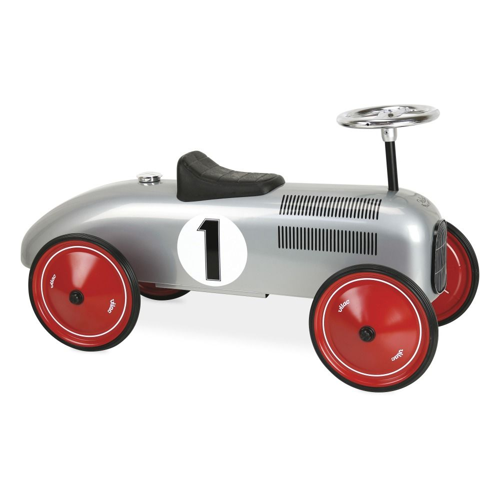Metal Ride On Car Grey Vilac Toys And Hobbies Children Ride On Toys Toy Car Vintage Cars