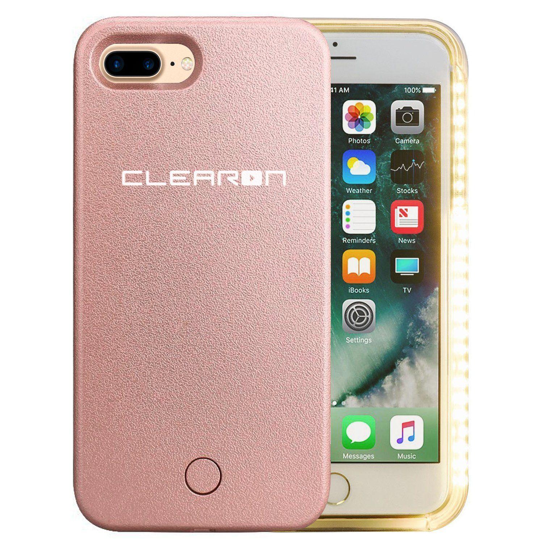 iphone 8 plus case with selfie light