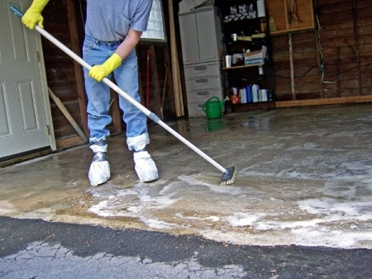 How To Remove Stains From Concrete concretestainremoval