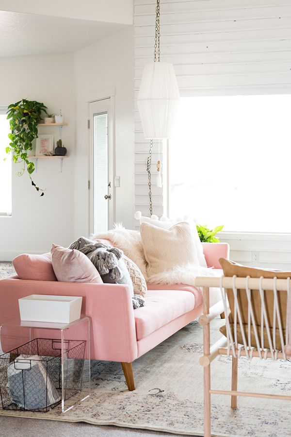 Pink MidCentury Modern Sofa Emil MidCentury Modern Furniture - Contemporary table designs from emil design studio