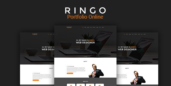 RINGO - Portfolio Sketch Template | Template and Sketches