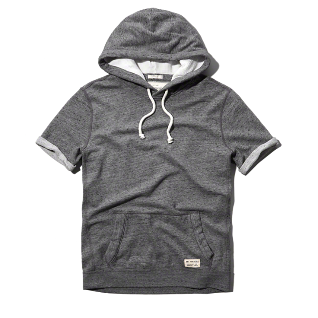 Abercrombie Com Mens Sweatshirts Hoodie Hoodies Short Sleeve Hoodie
