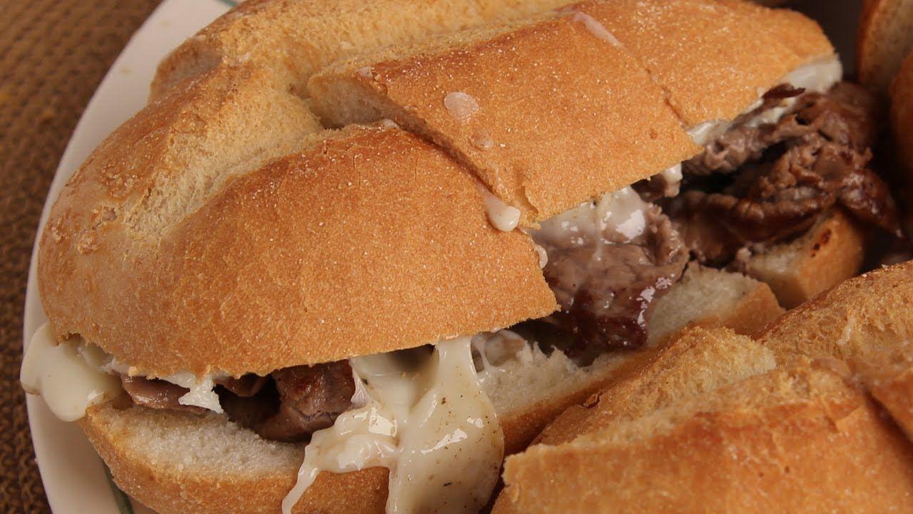 Homemade Cheesesteaks - Recipe - Laura Vitale - Laura in the Kitchen Epi...