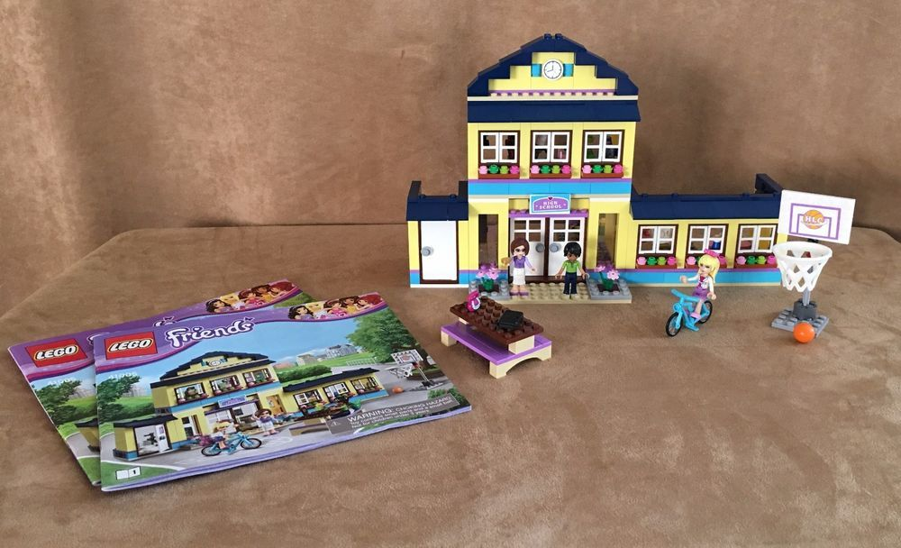 41005 Lego Complete Friends Heartlake High School Instructions