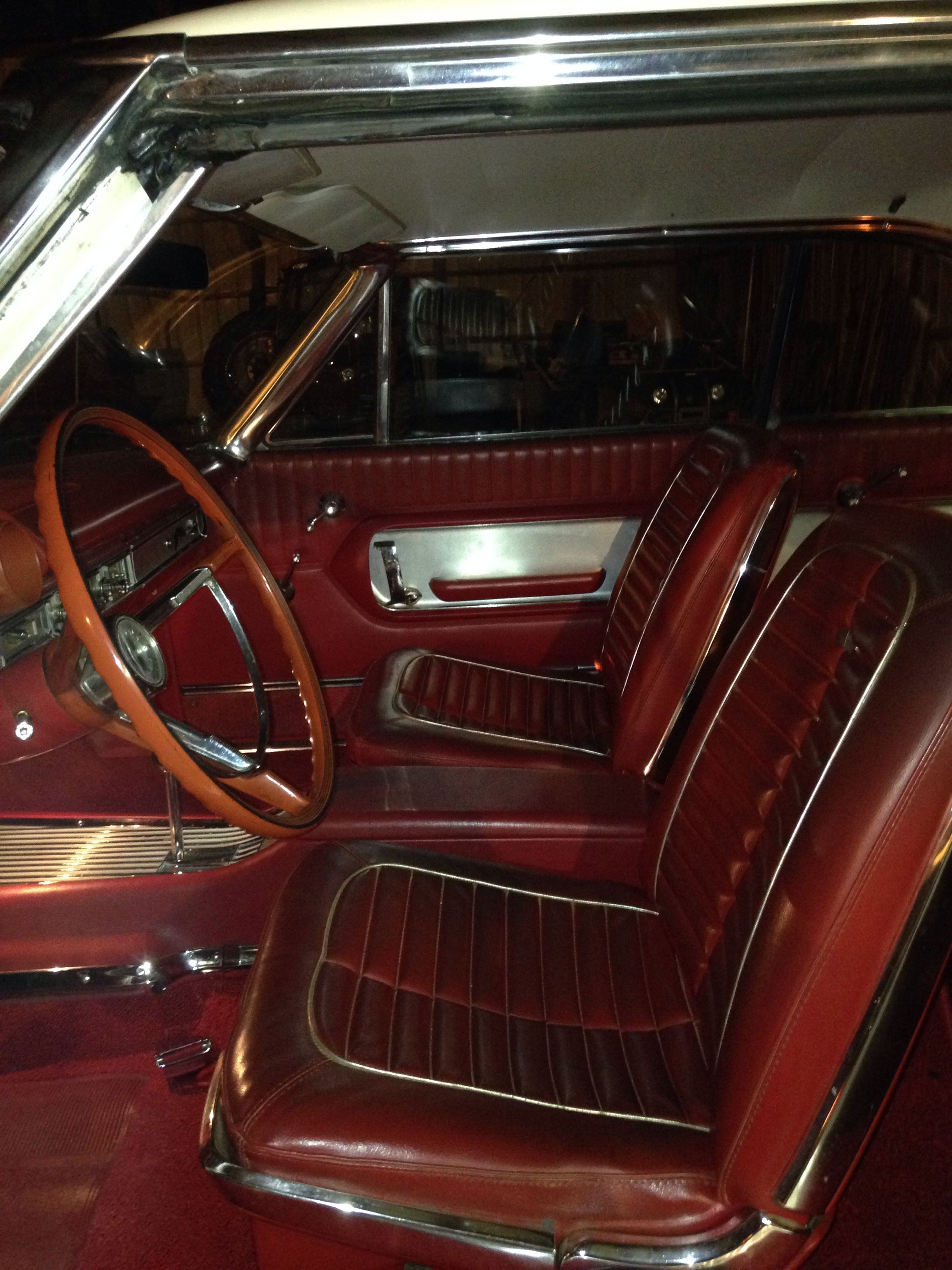 1964 Galaxie 500 Xl Interior Galaxie Classic Cars Vintage Cars