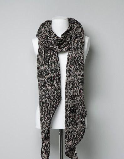 Photo of KNITTED SCARF