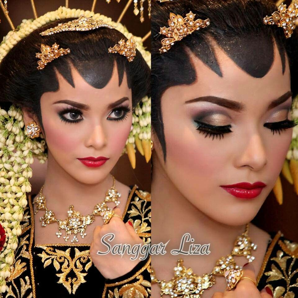 make up pengantin tradisional jawa Indonesia Pengantin