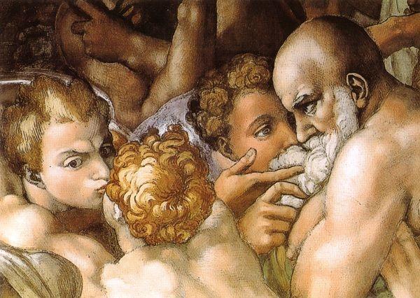 Michelangelo Laatste Oordeel