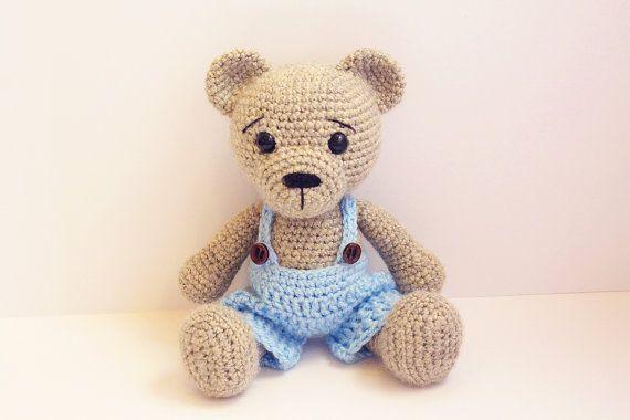 PATTERN : Bear-teddy -Amigurumi bear pattern-Bear -Classic Bear ...