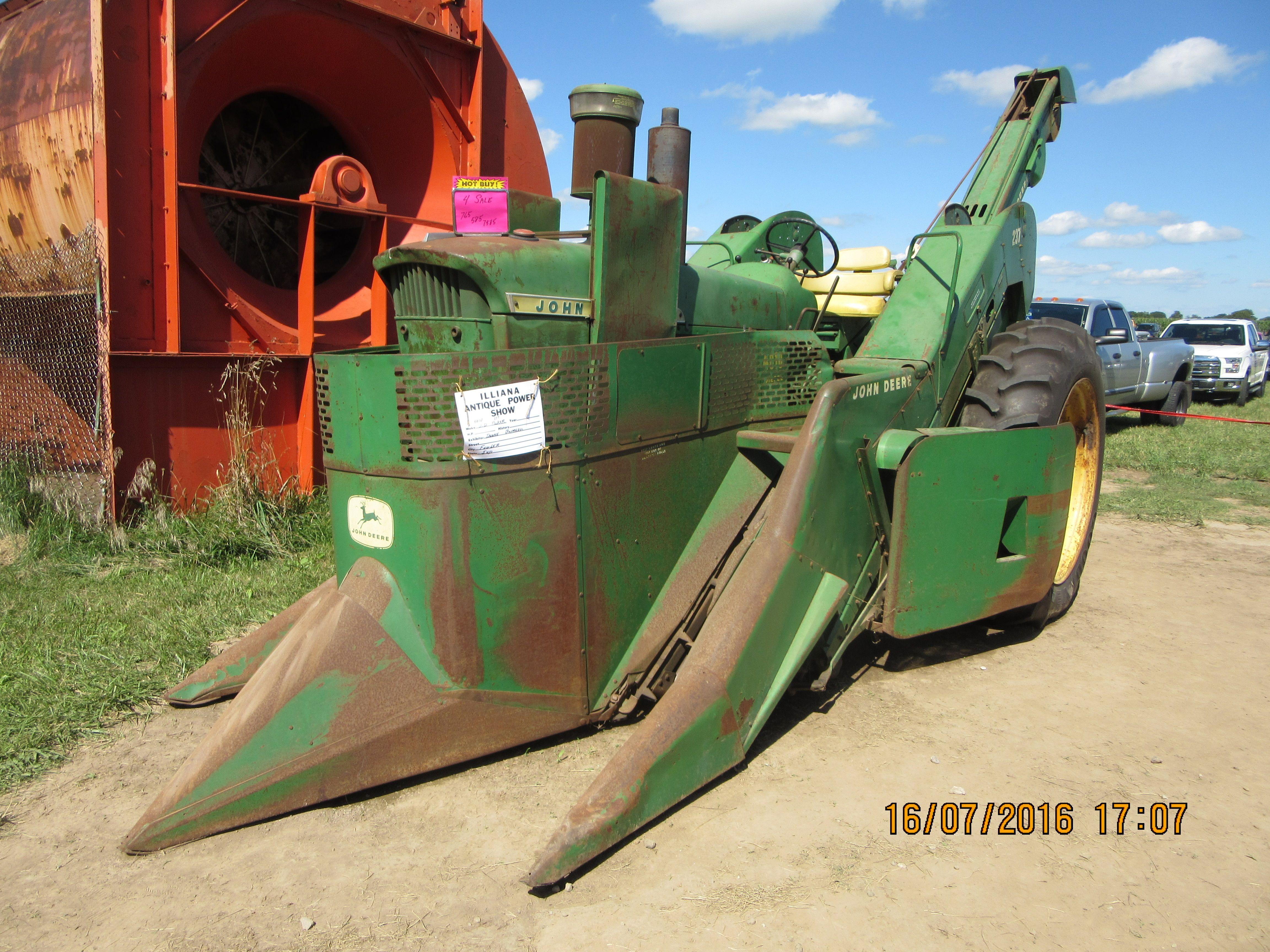 Caterpillar 4010 With 237 Corn Picker On Board Jd Farm Equip My