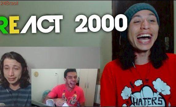 React 2000 REAGINDO A ALGUÉM REAGINDO AO MEU PRIMEIRO VIDEO