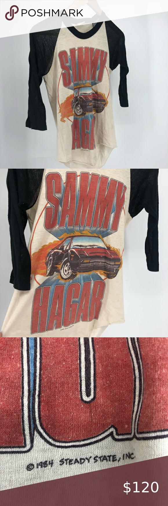 Vintage 1984 Sammy Hagar I Can Drive 55 Shirt S In 2020 Vintage Band T Shirts Concert Shirts Vintage Shirts