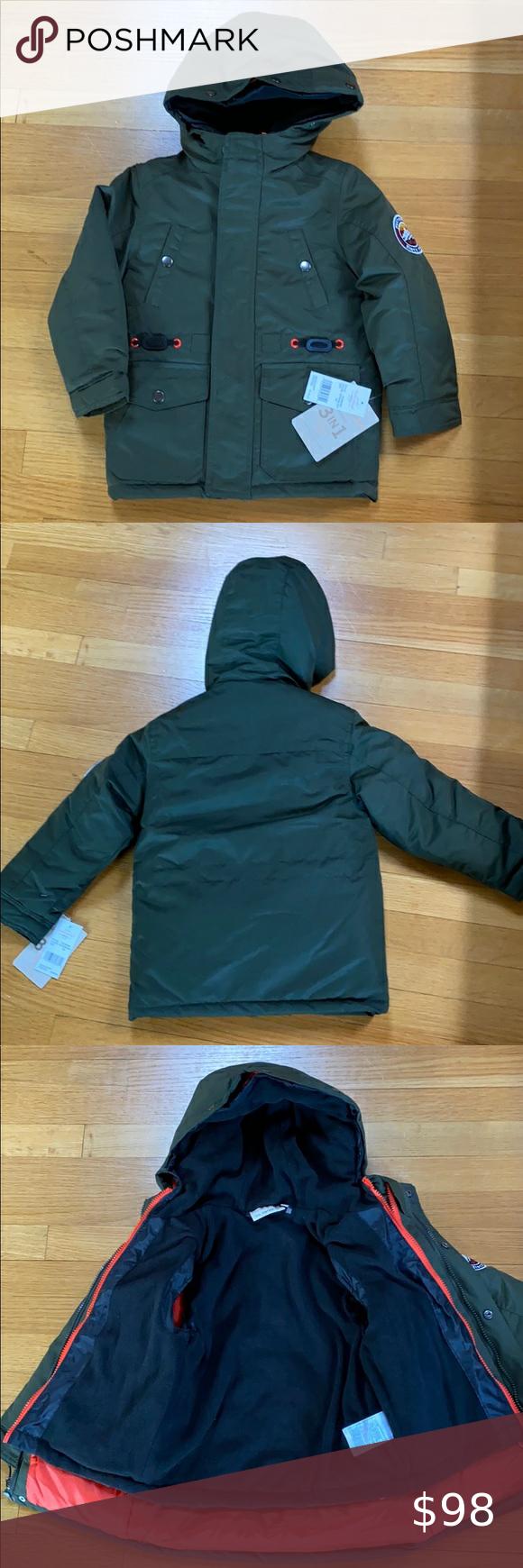 Weatherproof Garment Co Boys Jacket Size 5 6 Girls Winter Jackets Boys Jacket Boy Outerwear [ 1740 x 580 Pixel ]