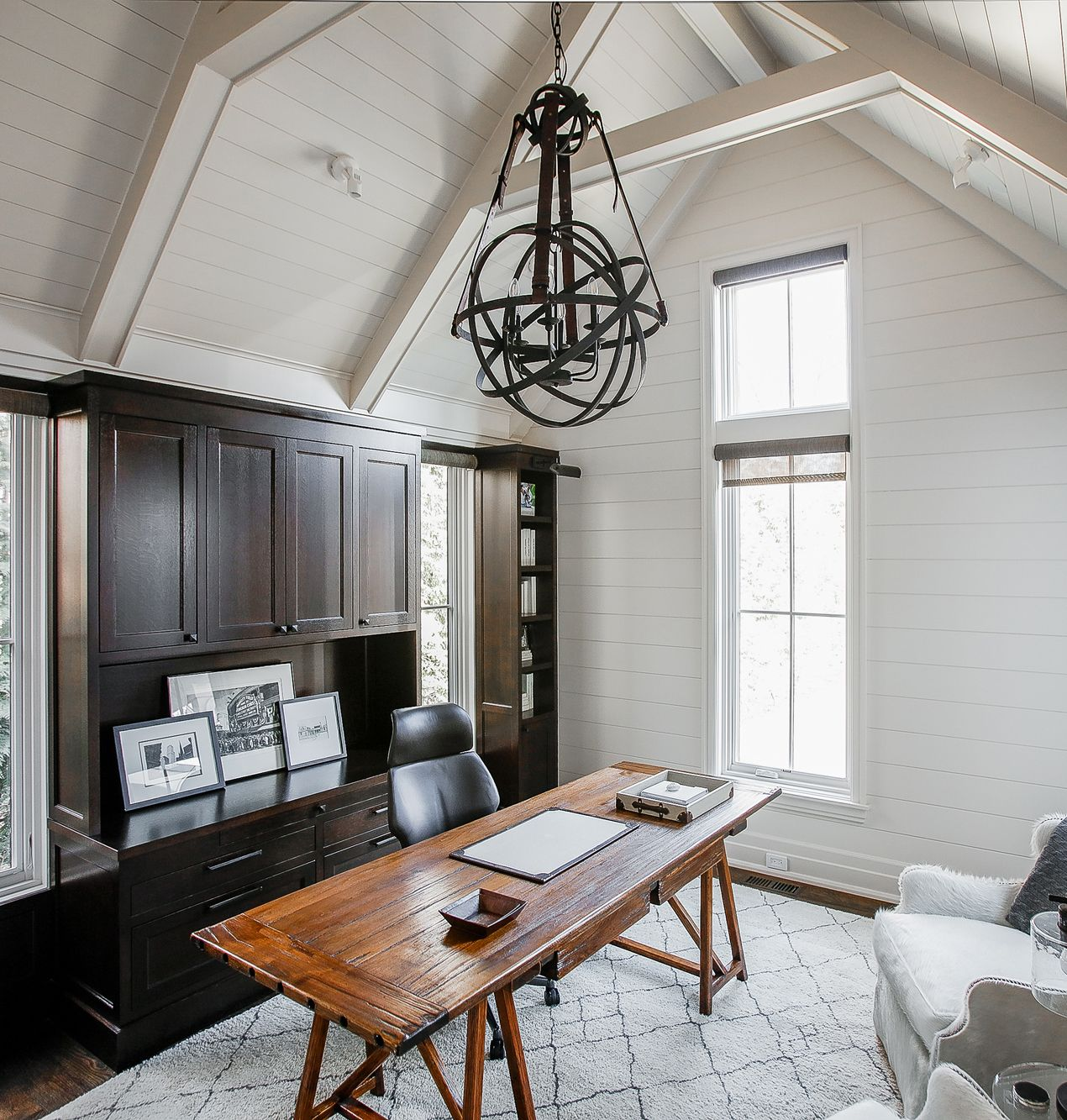 Cottage Home | Cottage Design | Home Office | Lighting | # ...