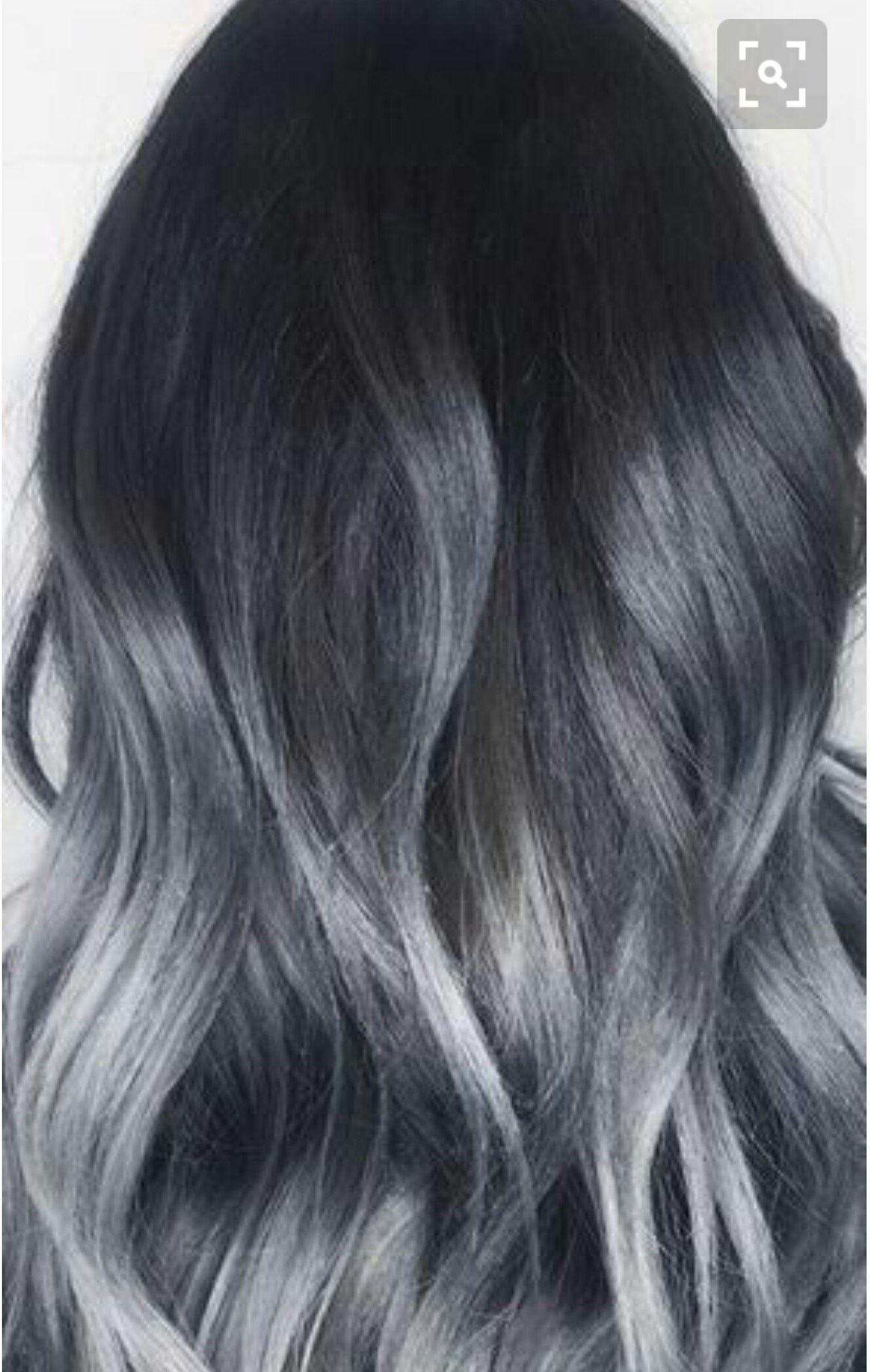 Silver Hair Pinterest Hair Coloring Hair Style And Hair Goals