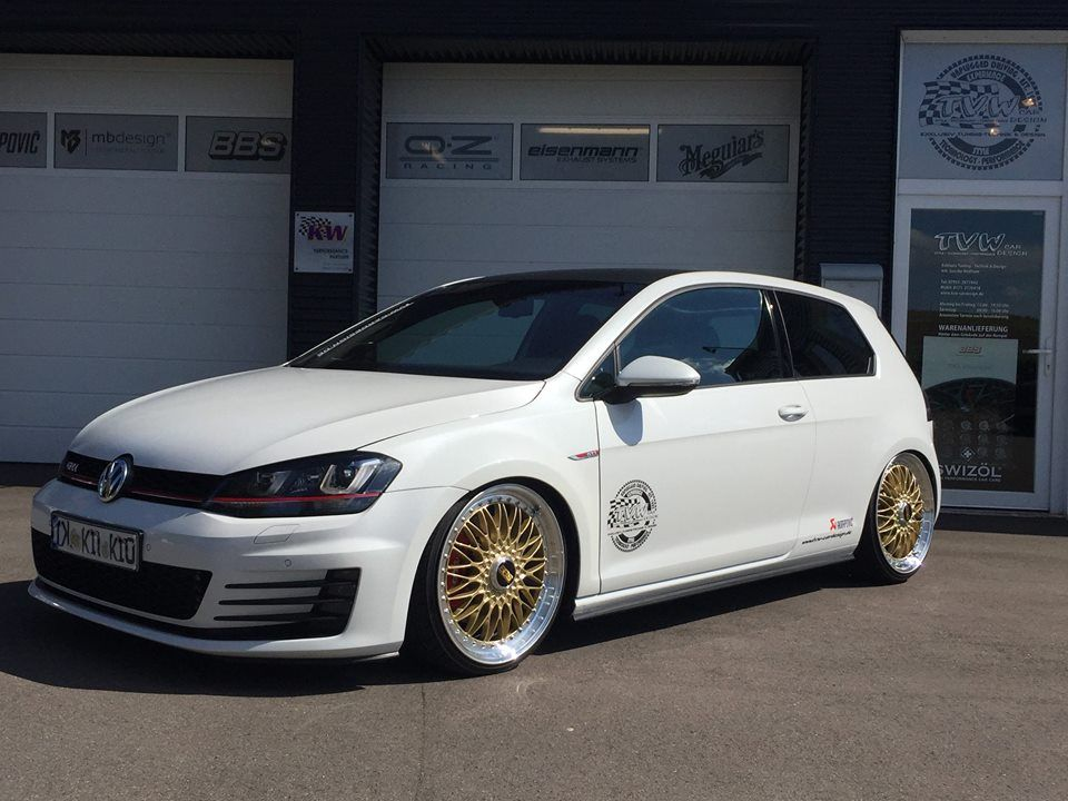 akrapovic vw golf 7 gti bbs super rs tuning tvw 5 golf. Black Bedroom Furniture Sets. Home Design Ideas