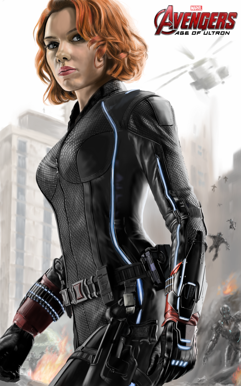 Avengers Age Of Ultron By Iloegbunam On Deviantart: Avengers Age Of Ultron Black Widow By Billycsk.deviantart