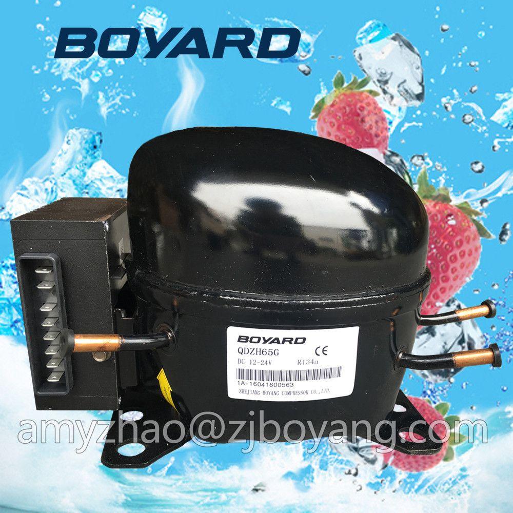 refrigerator spare parts dc 12v refrigeration compressor