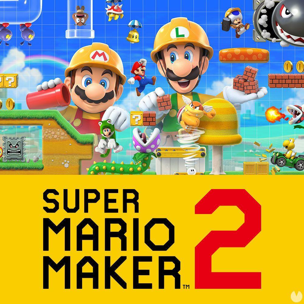 Super Mario Maker 2 Llegará El 28 De Junio A Nintendo Switch Juegos De Wii U Juegos De Wii Juego De Video