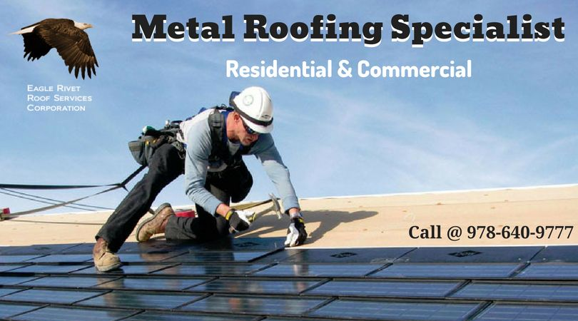 If You Are Looking For A Roofing Contractor For Your Commercial Metal Roof Needs Eagle Rivet Roof Service Commercial Metal Roofing Roofing Services Metal Roof