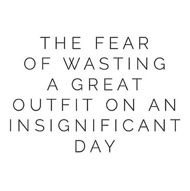 The Struggle is Real! #perle #sonoma #fashion #style #quote #fear #funny #girl #shopping #fashionista