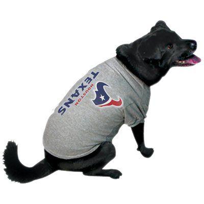more photos 686be 4319e Houston Texans Ash Logo Pet T-shirt   Love My Texans ...