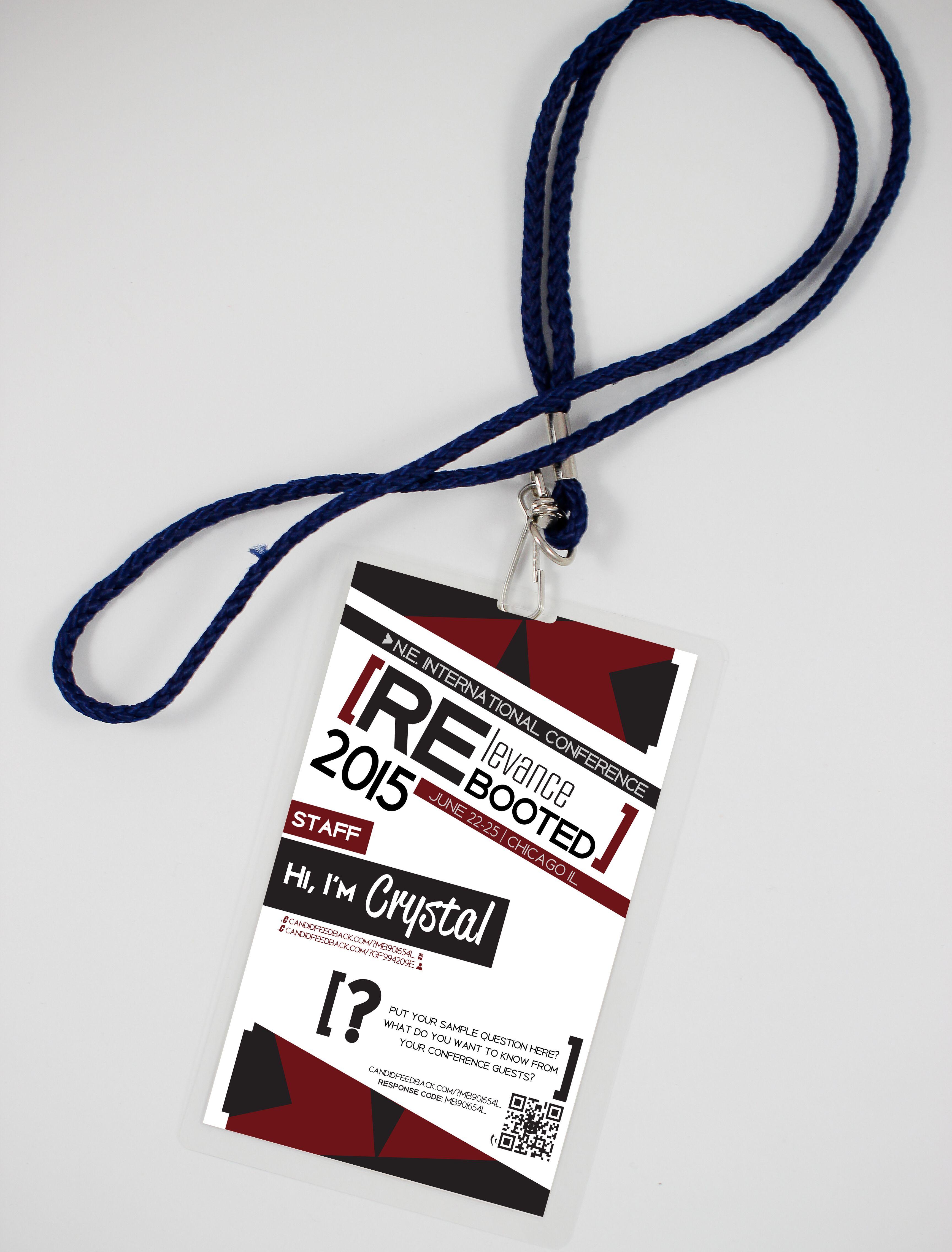 Photorealistic Mobile Feedback Conference Lanyard Design Mockup Candidcup Lanyard Designs Branding Design Tag Design