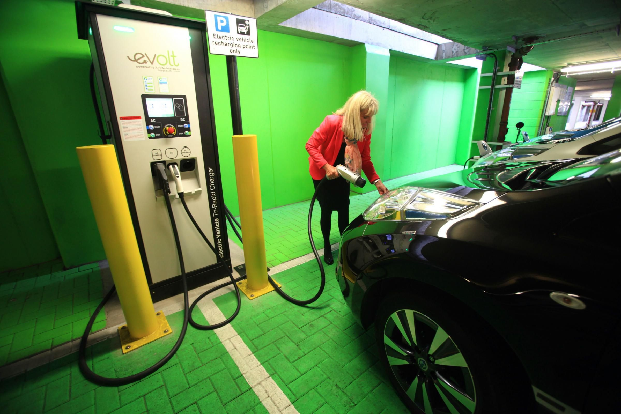 Scots must opt for electric cars if target for slashing emissions is ...