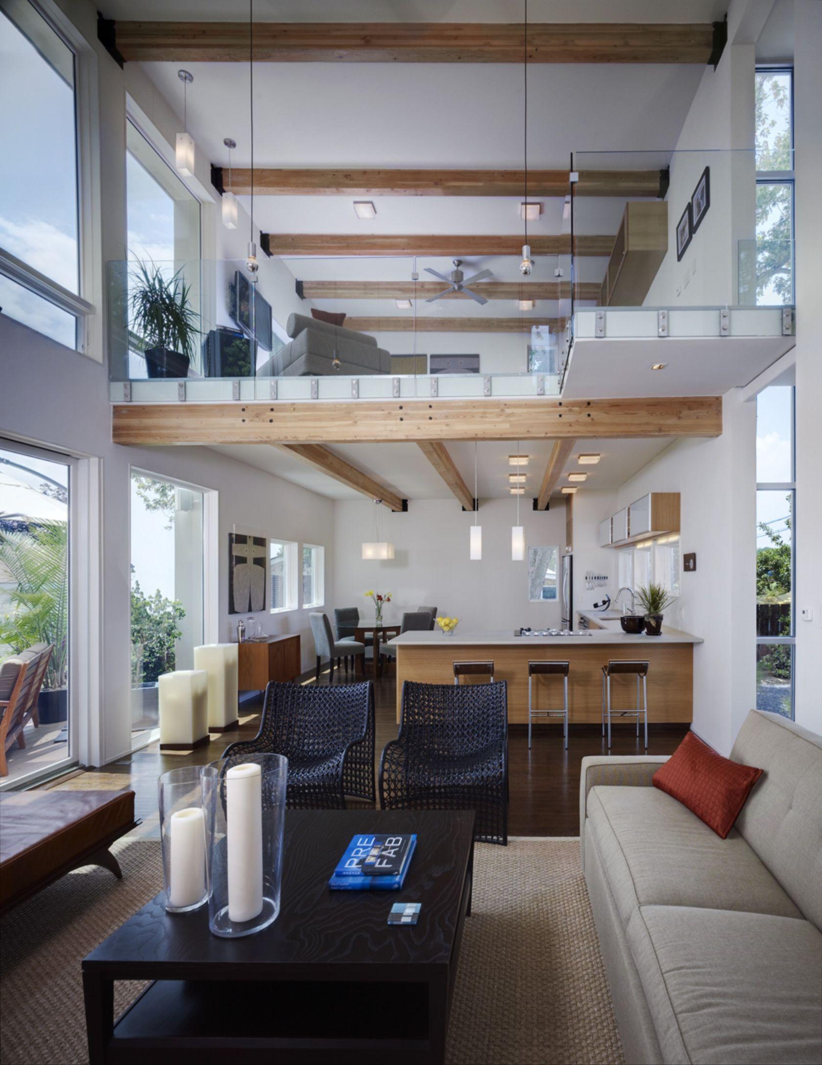 Watershak - mezzanine living | • interiors // staircase + mezzanine ...