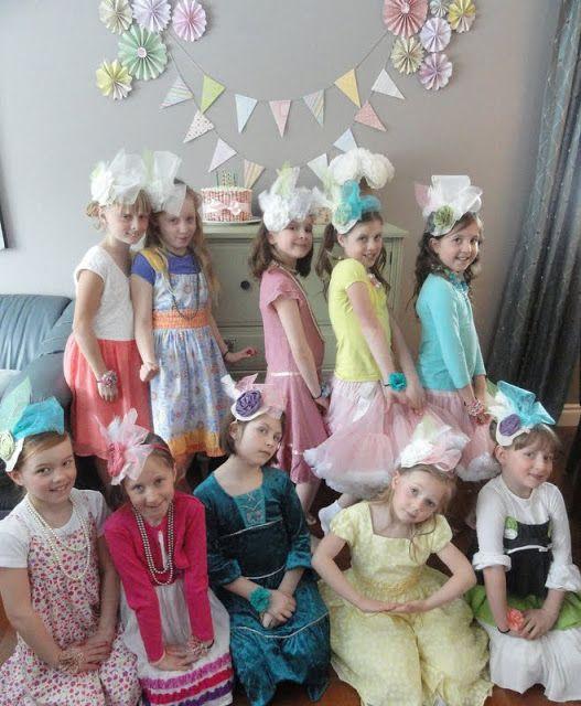 Girls Dress Up Tea Party