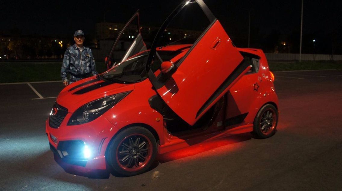 Spark Chile Autos Modificados Autos Auto Concepto