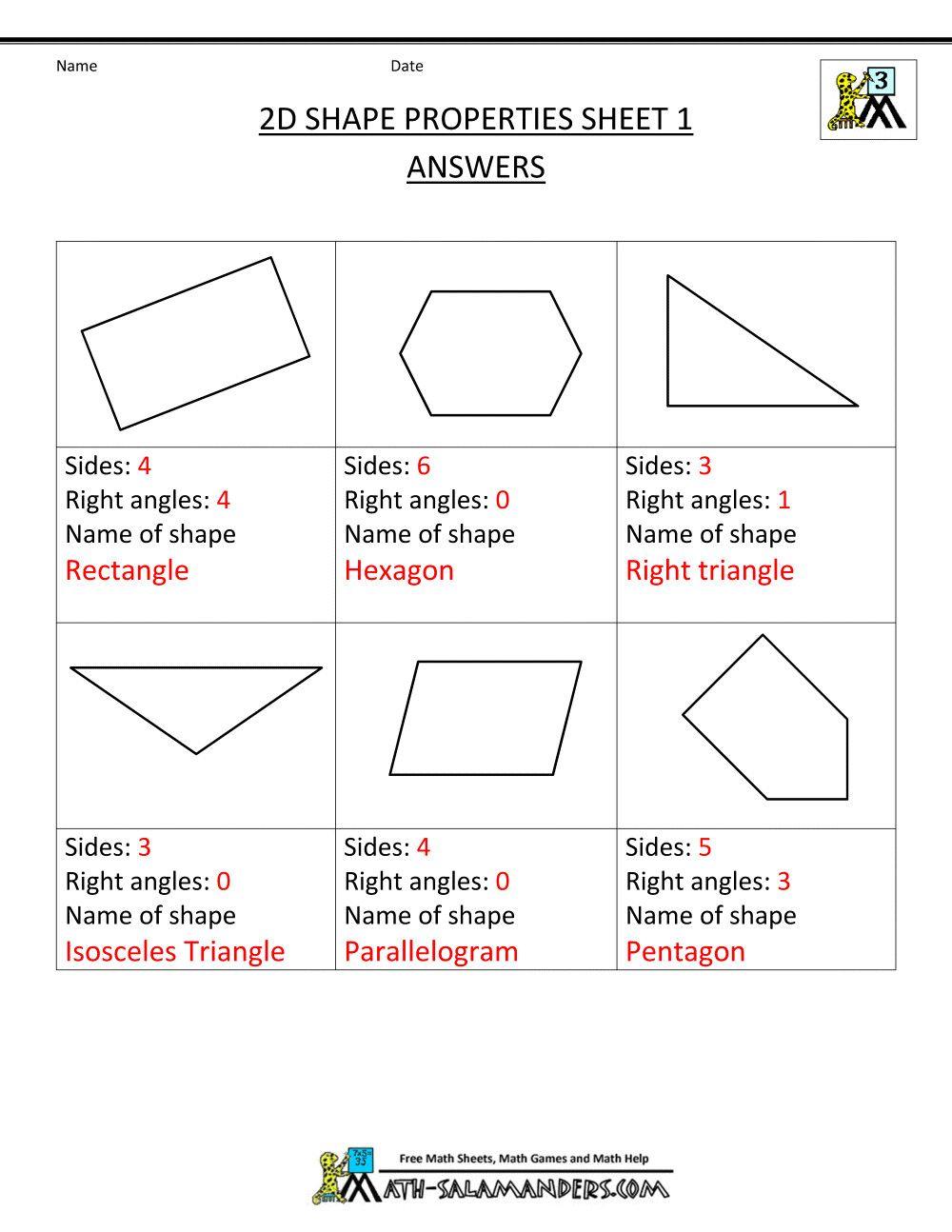 Second Grade Geometry Worksheets In 2020 Geometry Worksheets Graphing Worksheets Third Grade Geometry