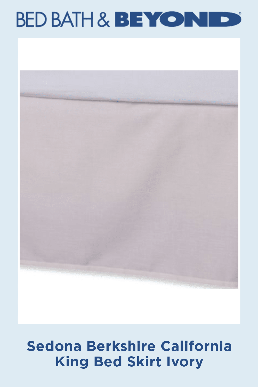 Photo of Sedona Berkshire California King Bed Falda Marfil