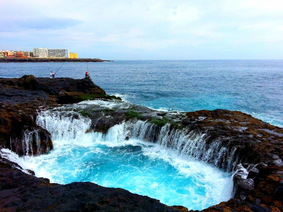 Bufadero De Telde In Telde Canarias Lugares Para Viajar Isla