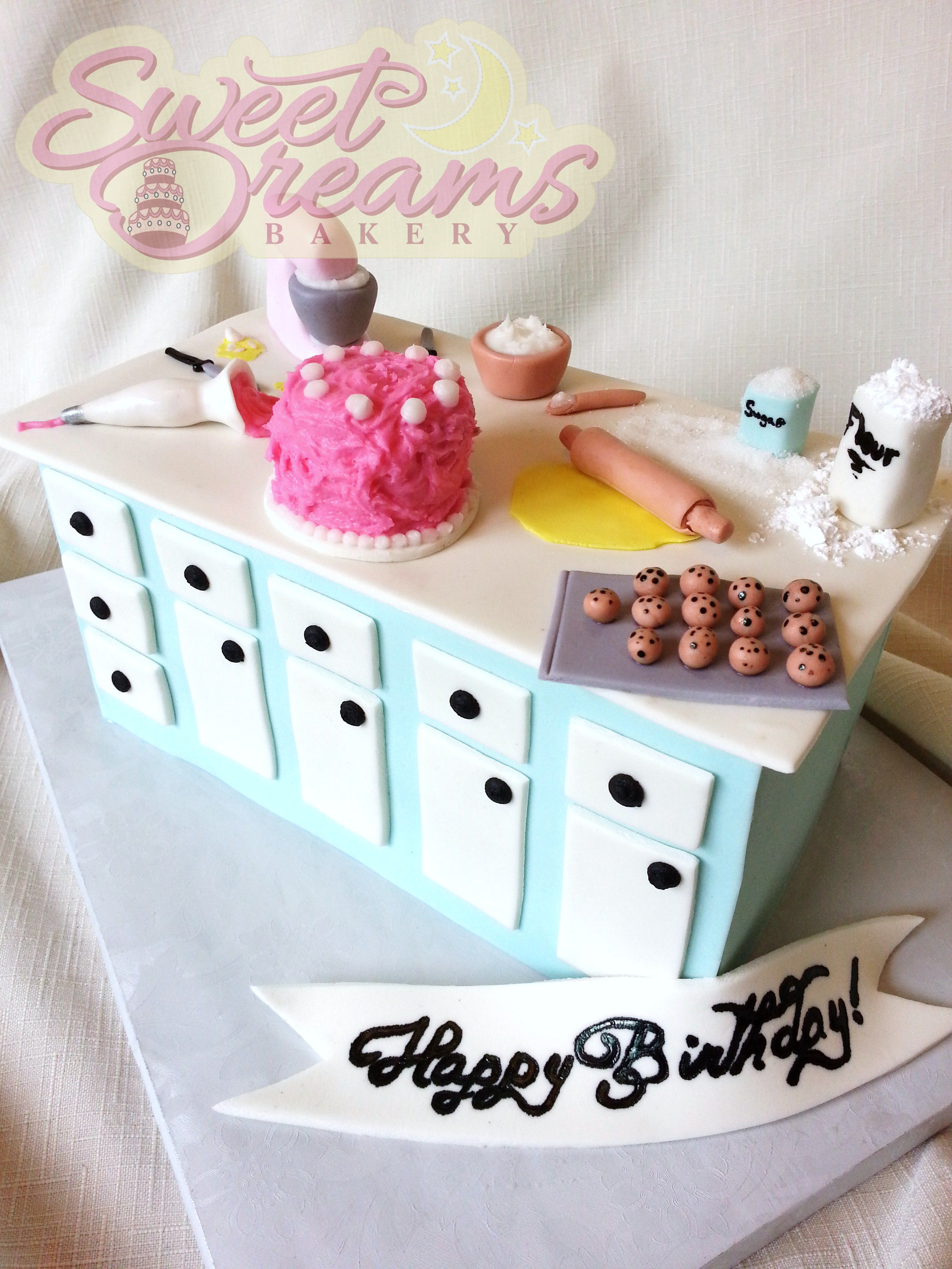 A Bakers Themed Birthday Cake Made For Myself From Sweet