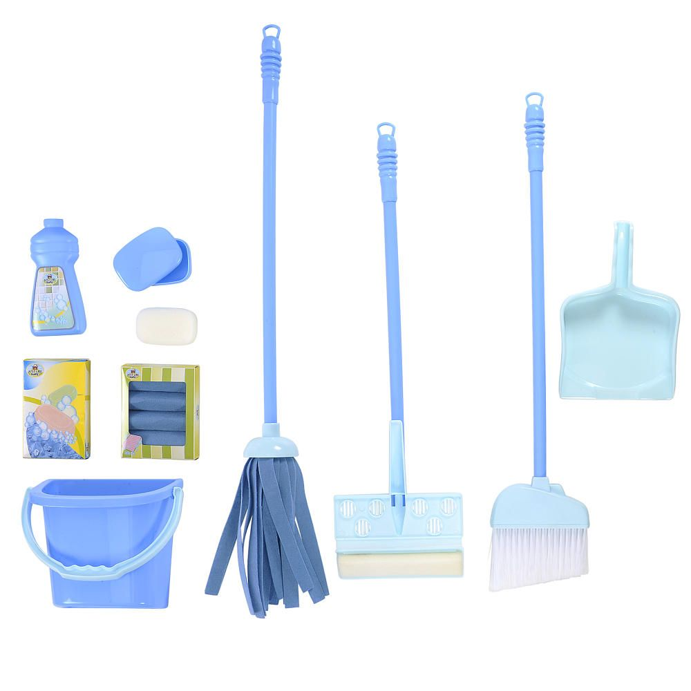 Just Like Home Deluxe Cleaning Set Blue Toys R Us Toys